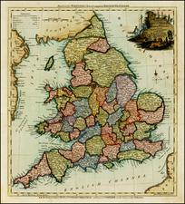 British Isles Map By Thomas Kitchin