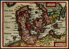 Scandinavia Map By John Speed