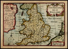 British Isles Map By John Speed / Pieter van den Keere