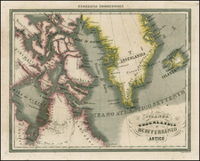 Polar Maps, Canada and Balearic Islands Map By Francesco Marmocchi