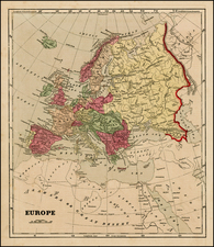 Europe and Europe Map By Charles Morse