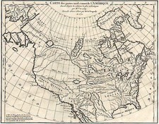 North America Map By Denis Diderot