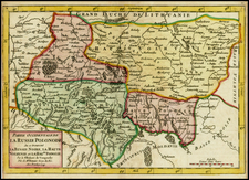 Poland and Russia in Asia Map By Didier Robert de Vaugondy