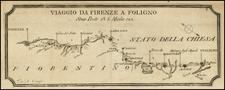 Italy Map By Francesco De Caroly
