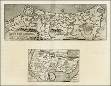 Germany and Poland Map By Cornelis de Jode