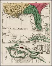 Florida, South and Southeast Map By Christian Friedrich von der Heiden