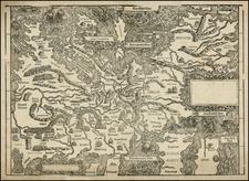 Europe and Europe Map By Johann Stumpf