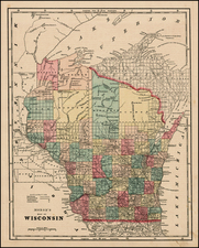 Midwest Map By Sidney Morse