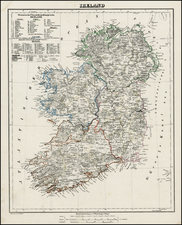 Ireland Map By Carl Flemming