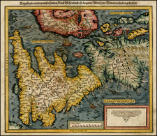 British Isles Map By Sebastian Munster