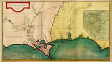South Map By Jean-Baptiste Bourguignon d'Anville