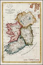Ireland Map By Thomas Bowen