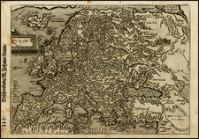 Europe and Europe Map By Matthias Quad / Johann Bussemachaer