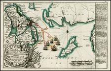 British Isles, Ireland and Balearic Islands Map By Christian Friedrich von der Heiden
