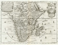 Africa, Africa, South Africa, East Africa and West Africa Map By Richard Blome