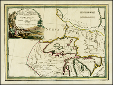 Midwest and Canada Map By Giovanni Maria Cassini