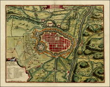 Italy Map By Nicolas de Fer / Guillaume Danet