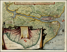 Brazil Map By Matthaus Merian