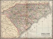 Southeast Map By William Bradley