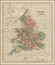 British Isles Map By Sidney Morse
