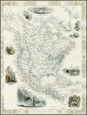 North America Map By John Rapkin
