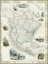 North America Map By John Rapkin
