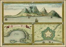 South Africa Map By Nicolas de Fer