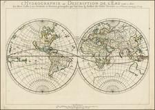 World and World Map By Nicolas Sanson