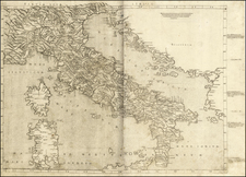 Italy Map By Bernardus Venetus de Vitalibus