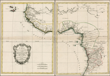 West Africa and African Islands, including Madagascar Map By Rigobert Bonne / Jean Lattre