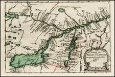 Canada Map By Christian Friedrich von der Heiden