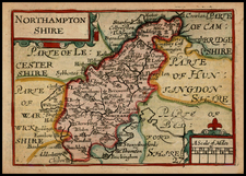 Northampton Shire By John Speed