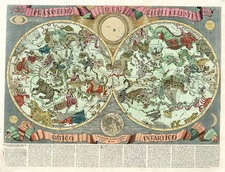 World, Curiosities and Celestial Maps Map By Francesco Brunacci / Giacomo Giovanni Rossi