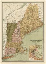 Mid-Atlantic Map By T. Ellwood Zell
