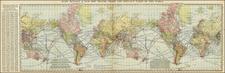 World and World Map By Rand McNally & Company