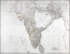 India and Other Islands Map By Robert Sayer