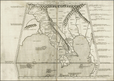 India and Southeast Asia Map By Claudius Ptolemy