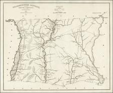 Southeast and South Carolina Map By Robert Mills