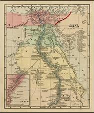 Egypt Map By Sidney Morse