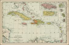 Caribbean Map By Rand McNally & Company