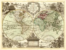 World and World Map By Jean-Baptiste Crepy