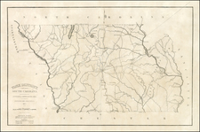 Southeast Map By Robert Mills