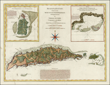 Caribbean Map By Laurie & Whittle