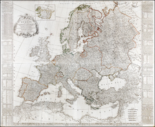 Europe and Europe Map By Robert Sayer