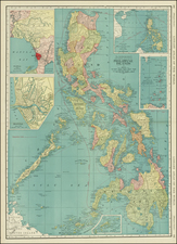 Philippines Map By Rand McNally & Company
