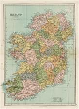 Ireland Map By T. Ellwood Zell