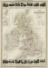 British Isles Map By Alexandre Vuillemin