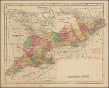 Canada Map By Sidney Morse