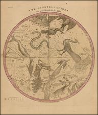 Celestial Maps Map By Elijah J. Burritt