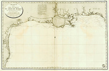 South, Texas, Southwest and Mexico Map By Depot de la Marine
